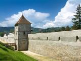 Brasov fortification tower, Transylvania, Romania poster
