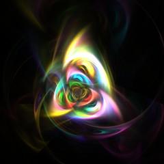 Farbiges Fraktal