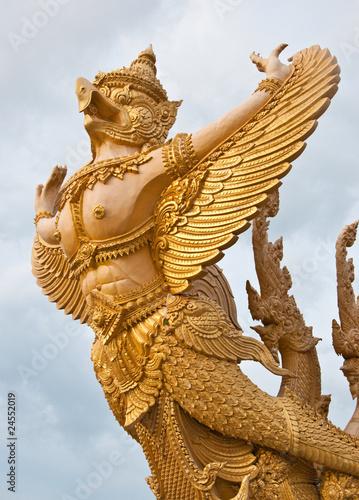 Golden garuda Poster