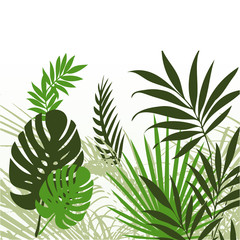 Tropical Leaves 01