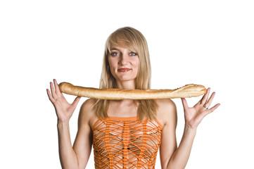 girl baguette