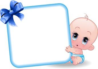Neonato Maschio-Baby Boy-2-Vector