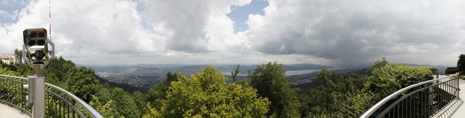 Panorama von Zürich