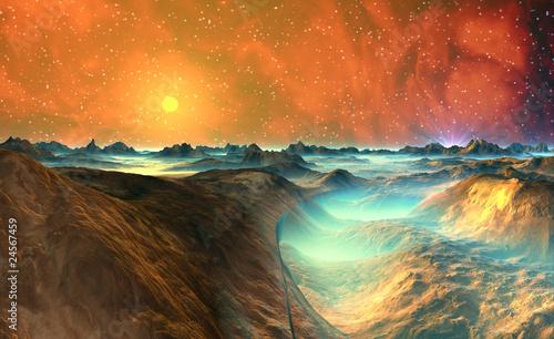 Fototapeten,stern,sonne,landschaft,himmel