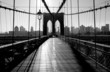 Leinwanddruck Bild - Brooklyn Bridge, Manhattan, New York City, USA