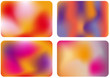 abstract color mix, vector background
