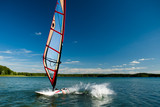 Fototapety Windsurfing lessons