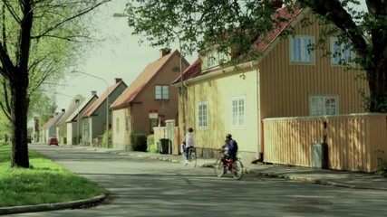 Street in old suburb