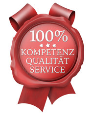 100% kompetenz qualität service