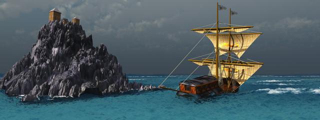 Sturm auf der See