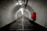 Greenwich Foot Tunnel, London. poster