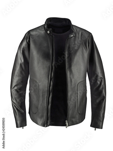 Leather Jacket and Blouson T-shirt from Porsche Design.