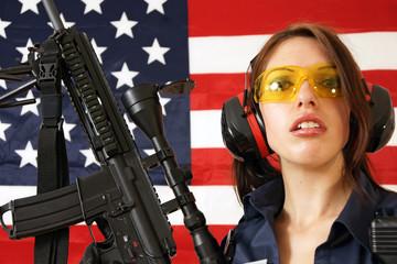 Polizistin Spezialeinheiten U.S.A.