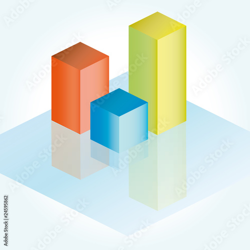 Business graph (vector)