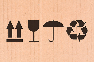 Simboli imballaggio