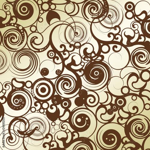 floral tapeten muster braun stockfotos und lizenzfreie bilder auf bild 24600205. Black Bedroom Furniture Sets. Home Design Ideas