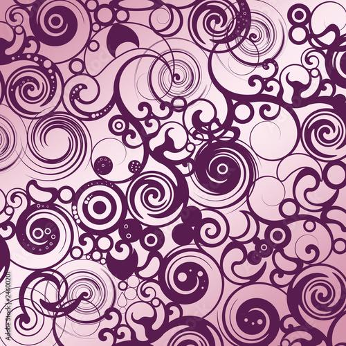 floral tapeten muster lila stockfotos und lizenzfreie bilder auf bild 24600201. Black Bedroom Furniture Sets. Home Design Ideas