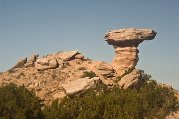 Camel Rock near Santa Fe, New Mexico