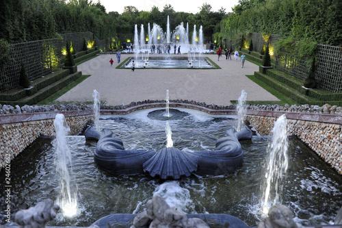Leinwanddruck Bild bosquet des trois fontaines
