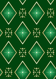 seamless vector dark green texture with rhombuses poster