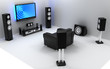 Audio and video room