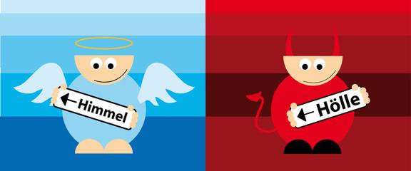 Engel und Teufel