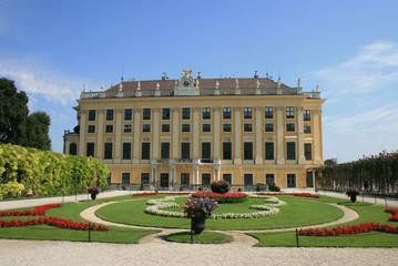 Schonbrunn palace's wing