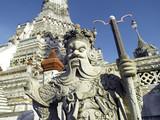 Wat Arun temple  sculptures