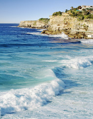 Bronte beach near Bondi Beach in Sydney, Australia