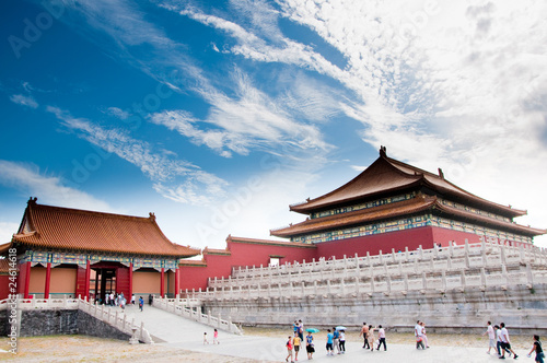 Deurstickers Beijing The Forbidden City