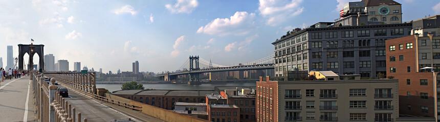 NYC Bridges Panorama