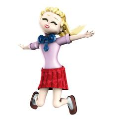 Girl salto