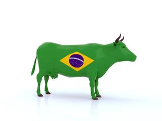 mucca brasile