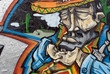 Quadro Mexican man graffiti
