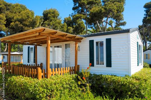 Leinwandbild Motiv mobile home