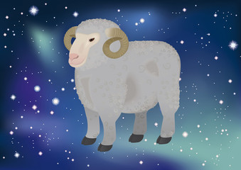 zodiacal sign - aries