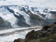 Постер, плакат: Glaciers autours du Cervin Alpes suisses