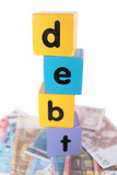 euro cash debt in play letters