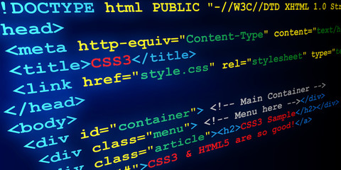 HTML & CSS tags