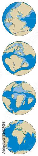 Terre - Tectonique des plaques 1B - 24627096