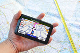 Satellite navigation system in the hand