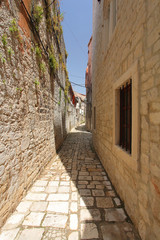 Lanes of Trogir, UNESCO list, Croatia
