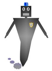 Poliziotto Robot
