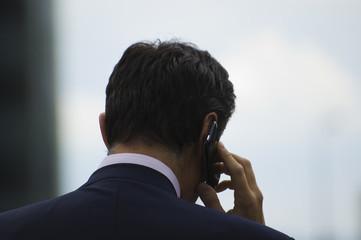 Directeur au téléphone