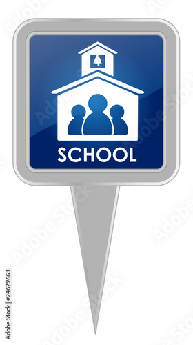 School - Map Marker