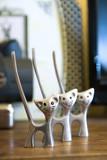 tres gatos decorativos poster