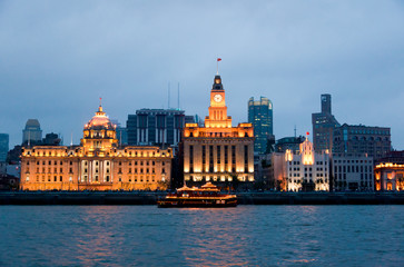 The Bund district - Old Part of Shanghai