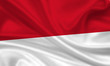 Flag of Indonesia / Monaco Indonesien Fahne Flagge