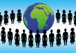 Menschenkette um die Erde