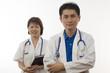 Two friendly Doctors